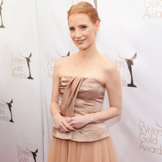 Jessica Chastain at Writers Guild Awards 2013