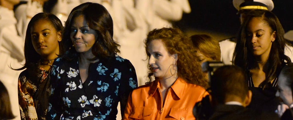 The Obama Women Are Greeted by Royalty After They Touch Down in Morocco For a Girls' Trip