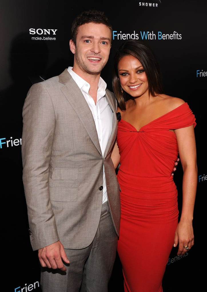 Justin Timberlake and Mila Kunis at Friends With Benefits premiere in NYC.
