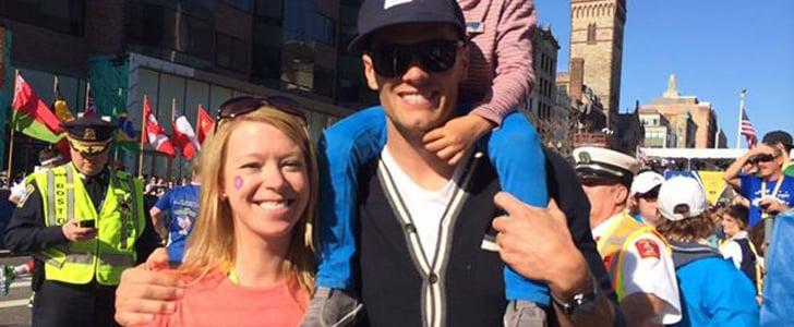 Meet the Boston Marathoner Who Inspires Tom Brady