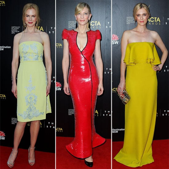 Who Wore What to the 2013 AACTA Awards in Sydney