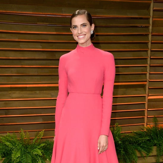 Allison Williams Engagement Ring at Oscars Party