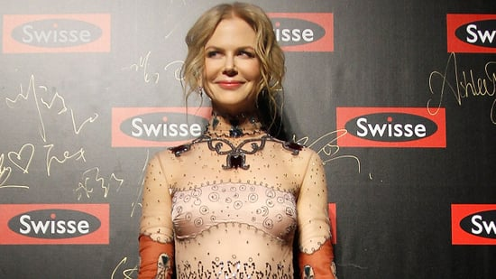 Nicole Kidman Rocks Super Eccentric, Abs-Baring Dress to Event in Shanghai -- See the Style!