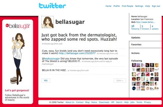 BellaSugar on Twitter
