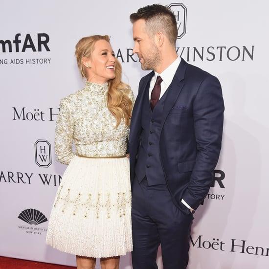 Ryan Reynolds and Blake Lively at amfAR Gala in NYC 2016