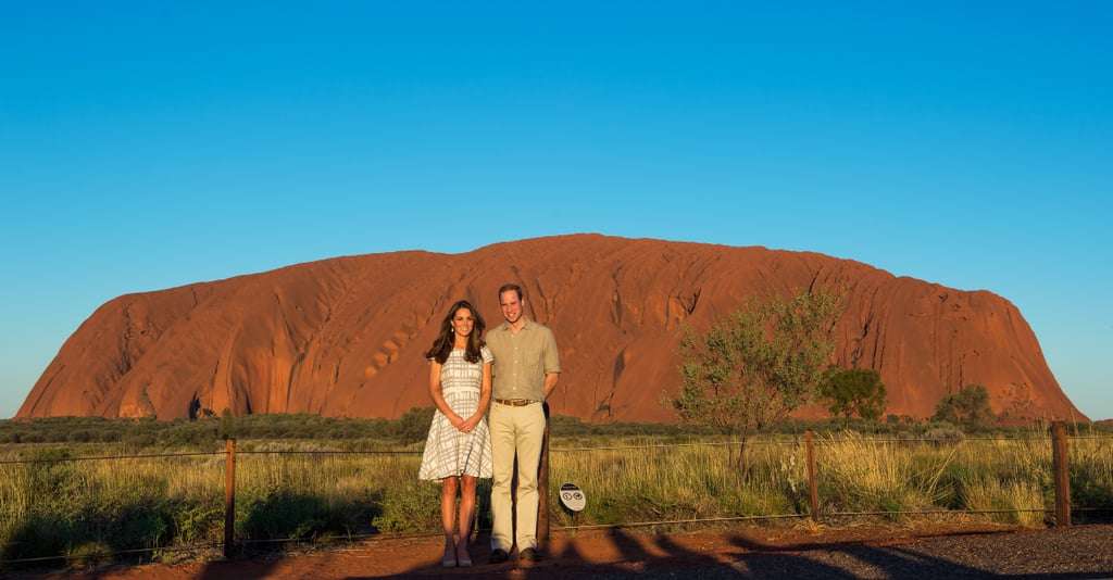 Kate and William Visit Ayers Rock