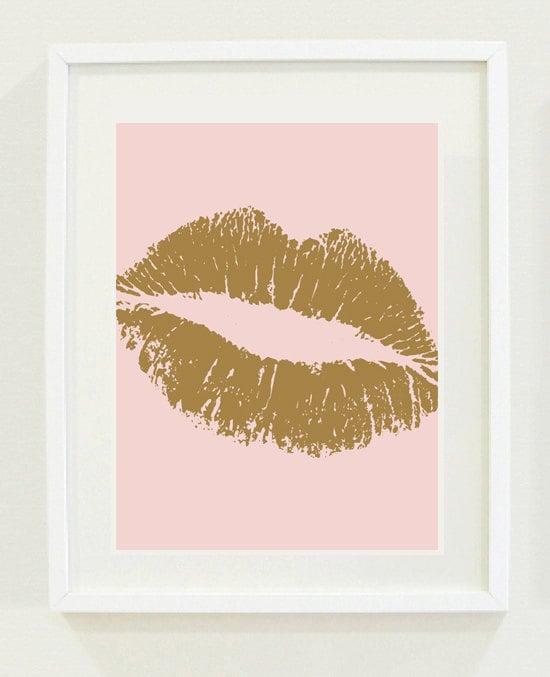 Kiss art ($15)