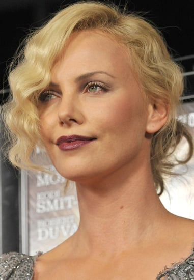 How To Wear Dark Matte Lipstick Like Charlize Theron