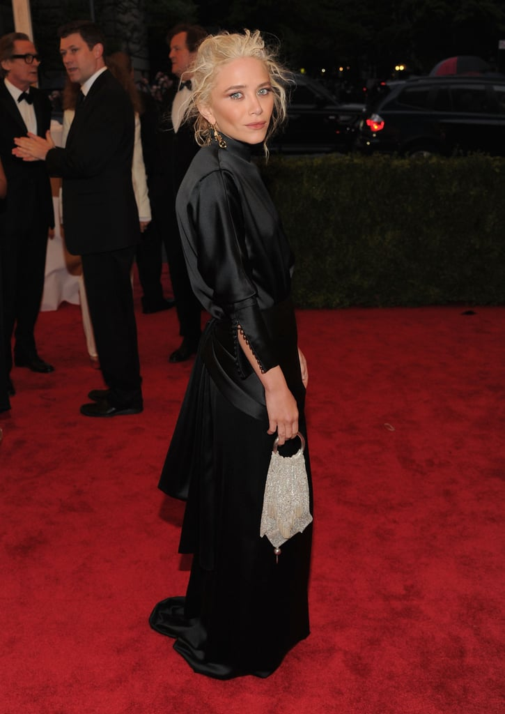 Mary-Kate Olsen Goes With Custom The Row Gown at the Met Gala