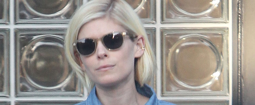 Kate Mara Celebrates the End of Summer by Going Platinum Blonde