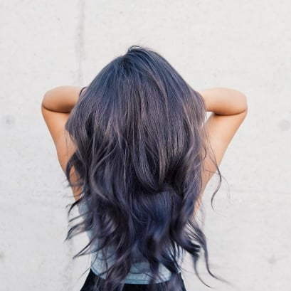 Smoky Lilac Hair Color Ideas