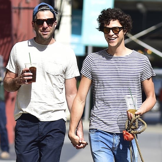 Zachary Quinto and His Boyfriend in NYC June 2016