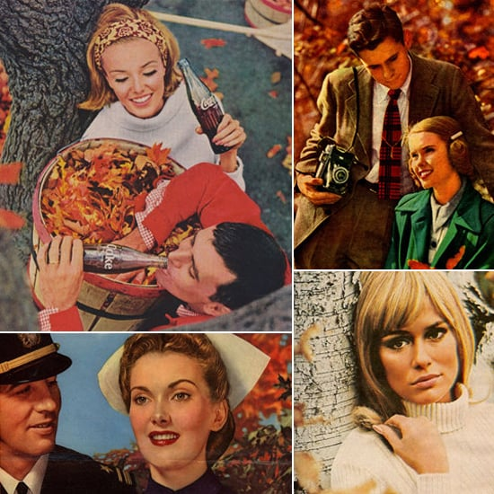 Fall in Love With These Vintage Autumn Ads