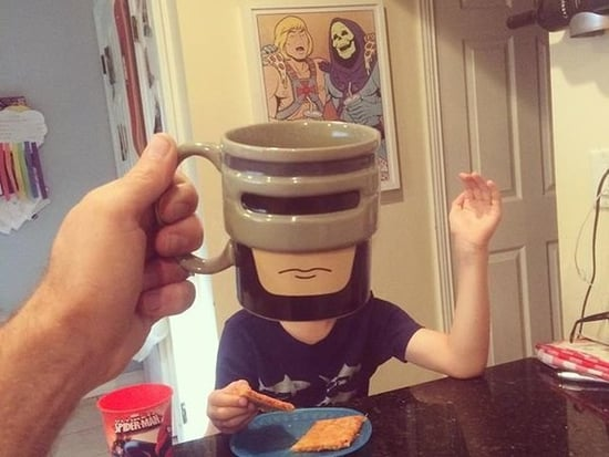 Dad Turns His Kids Into Cartoons With Awesome #BreakfastMugshots