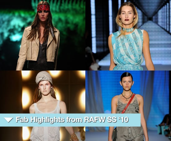 Photos from Rosemount Australia Fashion Week Spring 2010