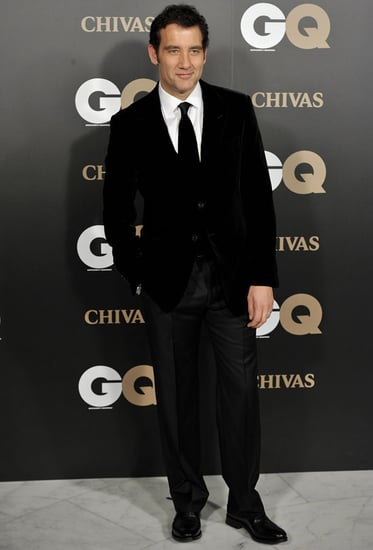 Pictures of Clive Owen at GQ's Magazine Awards in Madrid