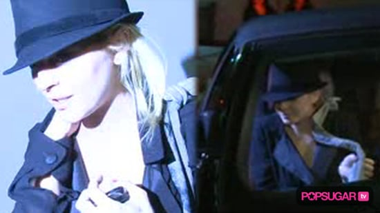 Lindsay Lohan Driver in Alleged Hit and Run