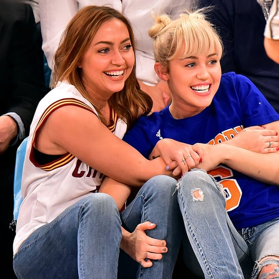 Miley Cyrus and Family at Basketball Game March 2016
