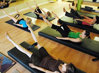 Review of Power Pilates Class at Sports Club LA