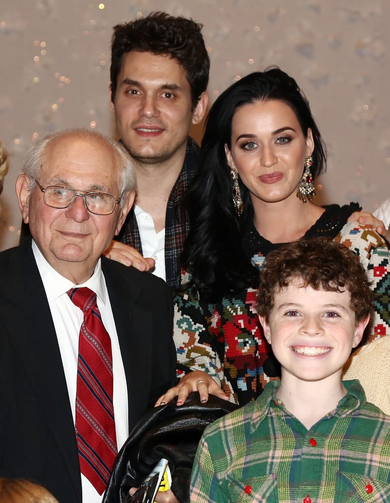 Katy Perry and John Mayer were all smiles at the musical.