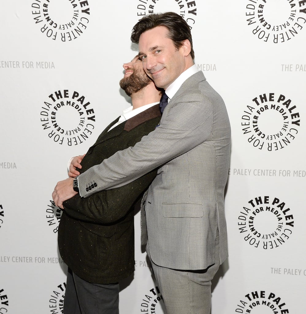 Jon Hamm and Vincent Kartheiser showed a goofy side we'd never see on Mad Men.
