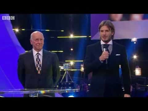 Watch David Beckham Accept His Lifetime Achievement Award in Front of Victoria and the Boys