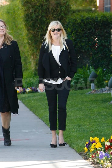 Reese Witherspoon out before her birthday.