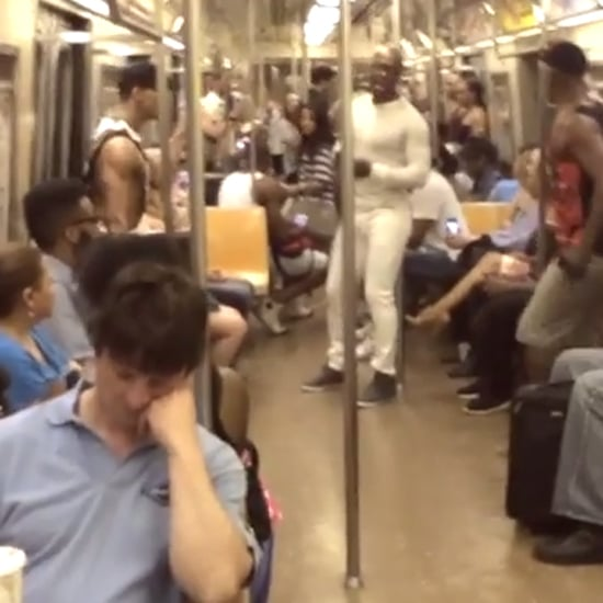 """Lion King Cast Sings """"Circle of Life"""" on the Subway 
