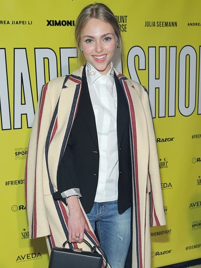 AnnaSophia Robb Masters Effortless Layering at NYFW