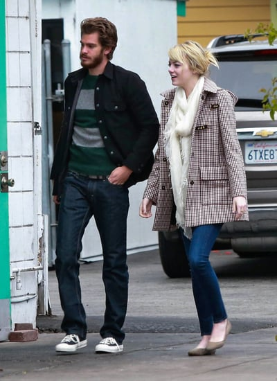 Emma Stone and Andrew Garfield stepped out together in Santa Barbara.