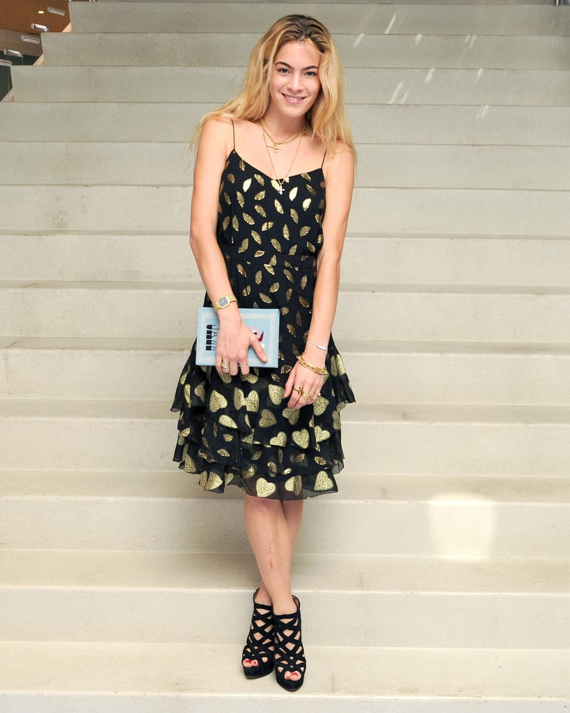 Chelsea Leyland joined DVF at her New York bash.