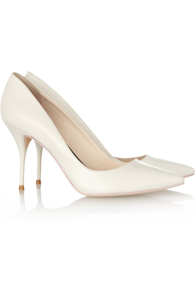 Net-a-Porter Fashion Director Holli Rogers announced a few months ago that a capsule collection from rising designer Sophia Webster was coming to the site, and it's finally here — and it's as good as promised. The white leather Lola pumps ($320) are the perfect go-with-anything white, while the heel is more walkable than expected. Paired with a skinny jean or a little dress, these are a new Summer staple.  — Melissa Liebling-Goldberg
