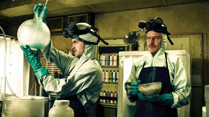 The show: Breaking Bad   The date: Visit a science museum   Where would Walter White be without all his science expertise? To make it to full-time meth dealer status, he started cooking in a van — and while that's not exactly the most ideal date idea, you two can bond over equally riveting exhibits.