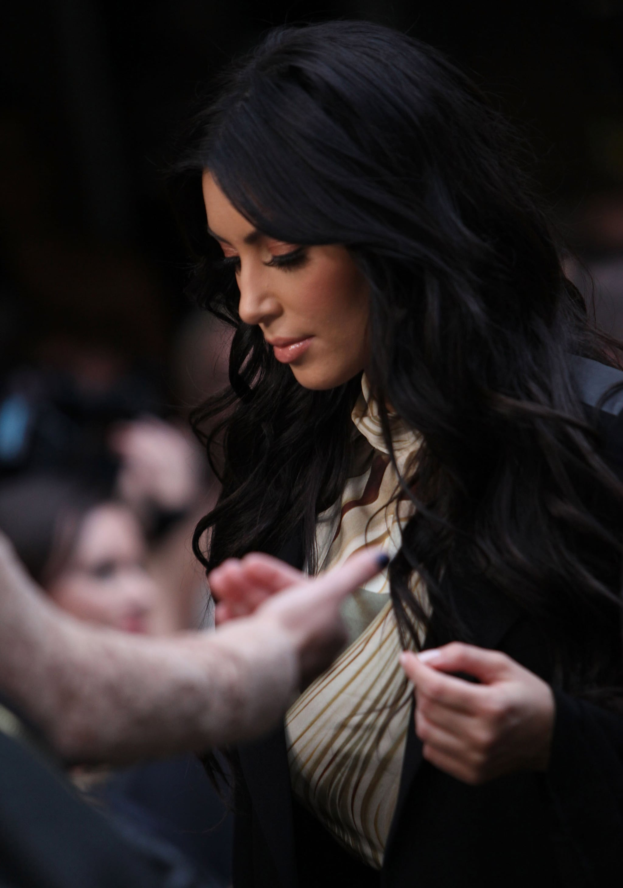 Kim Kardashian's fans came out in droves in Sydney.