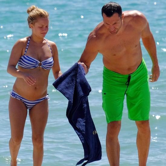 Hayden Panettiere Baby Bump in a Bikini Pictures