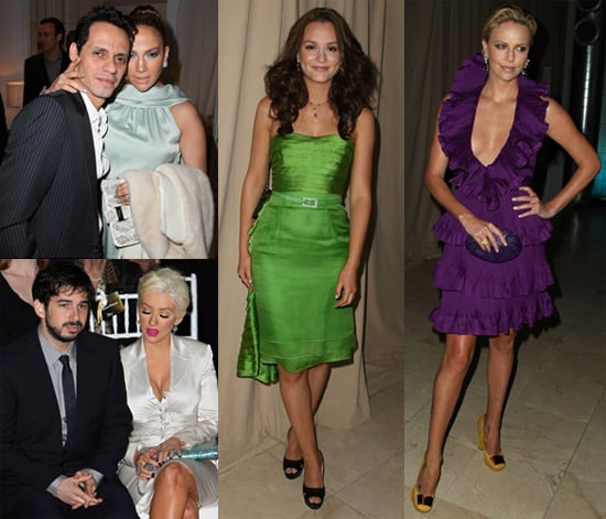 Photos of Christina Aguilera, Jennifer Lopez, Leighton Meester, Charlize Theron at Christian Dior Cruise 2009 Collection