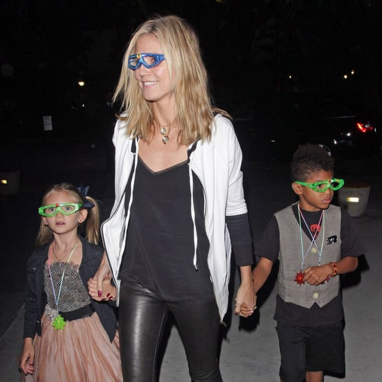 Heidi Klum Leaving Katy Perry Concert in LA Pictures