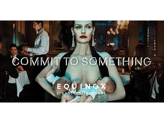 Bold Equinox Ad Features Woman Breastfeeding in Public