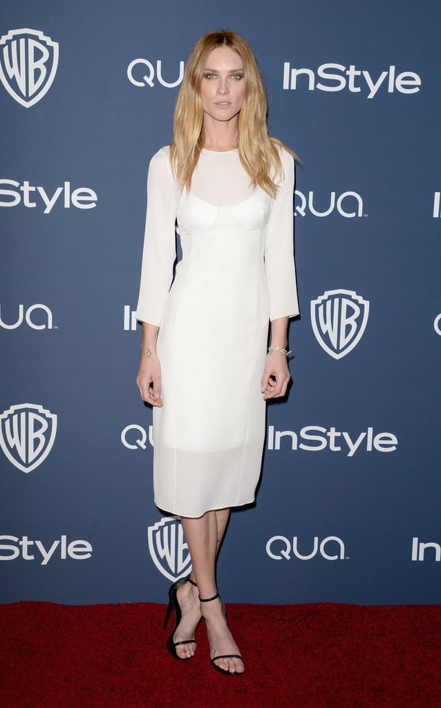 Erin Wasson at the InStyle Golden Globes party.