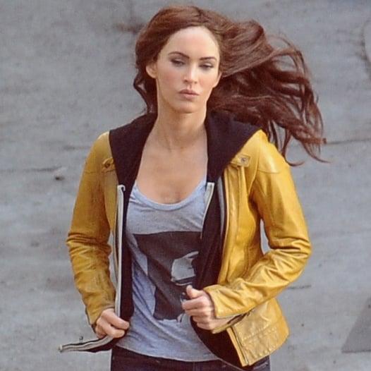 Megan Fox Films Movie Scenes After Birth | Pictures