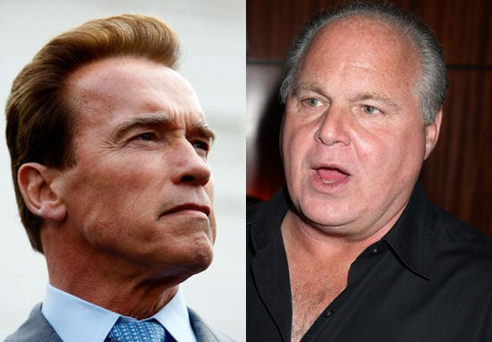 Say What? Arnold Schwarzenegger Talks Smack About Rush