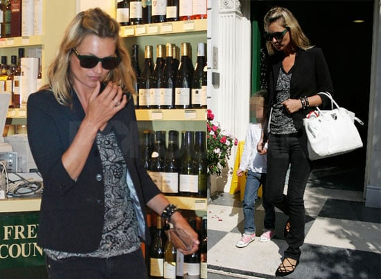 Photos of Kate Moss and Lila Hack in London