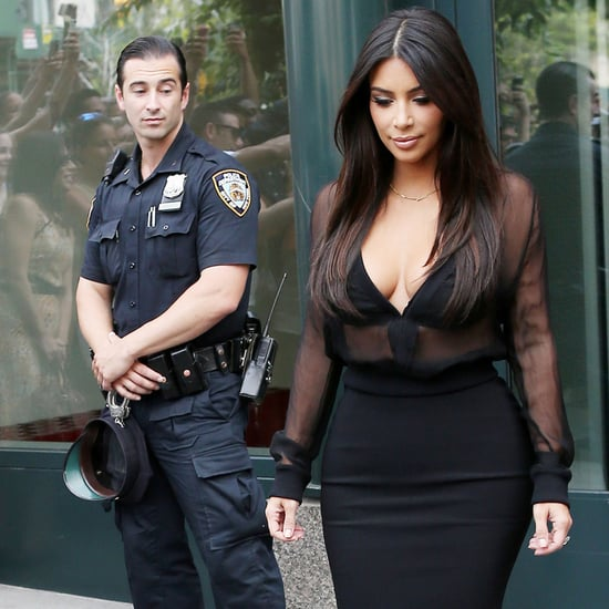 Kim Kardashian Getting Checked Out in NYC