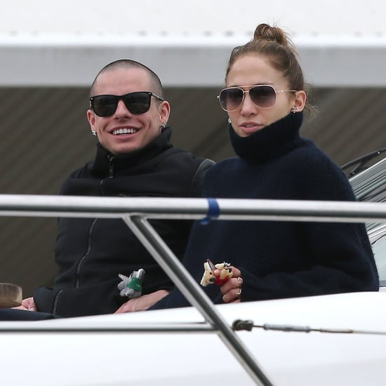 Jennifer Lopez Pictures in Sydney With Her Kids and Casper