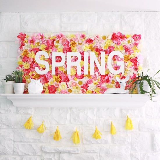 How to Decorate Your Mantel For Spring