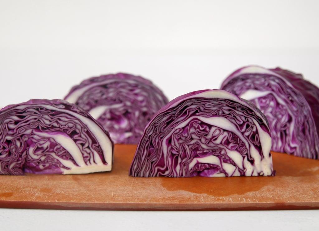 Quarter the Cabbage