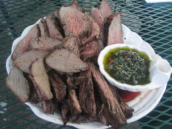 Tri-Tip With Chimichurri