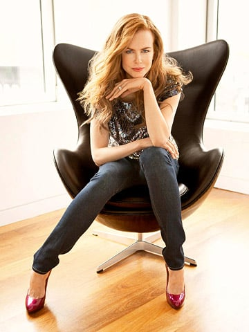Nicole Kidman Chats With Ladies' Home Journal