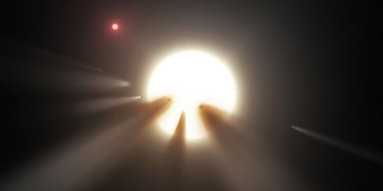 Are Space Aliens Behind The 'Most Mysterious Star In The Universe?'