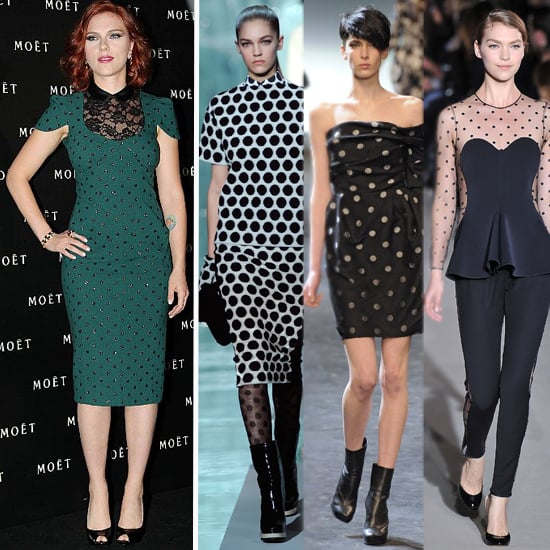 Polka Dot Tops, Dresses For Fall 2011
